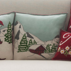Mountain Chalet Cushion