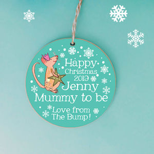 'From The Bump' Christmas Decoration
