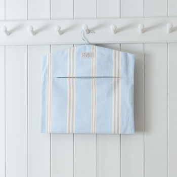 Eastnor Blue Stripe Peg Bag
