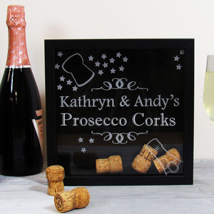 Keepsake Box For Prosecco Corks - keepsake boxes