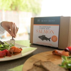 Make Your Own Original Cured Salmon Kit - hampers