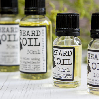Bergamot And Patchouli Conditioning Beard Oil
