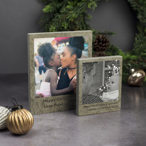 Personalised Photo Print On Concrete - people & portraits
