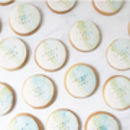 30 Personalised Wedding Favour Cookies