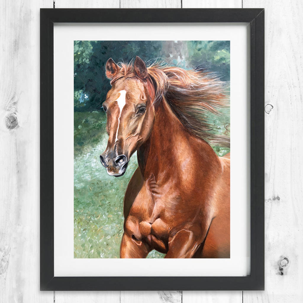 arabian horse | framed horse prints | horse gifts by caroline ...