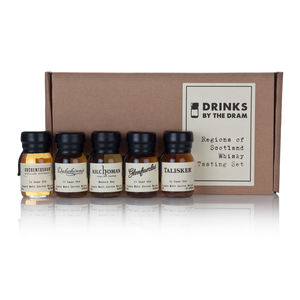 Regions Of Scotland Whisky Tasting Set - best gifts for fathers