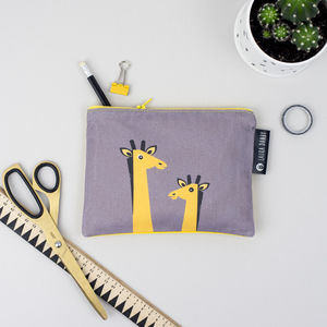 Giraffe Purse Or Animal Pencil Case - purses & wallets