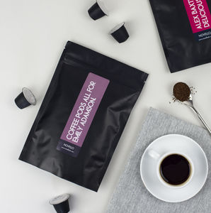 Coffee Pod Fortnightly Subscription Personalised Gift