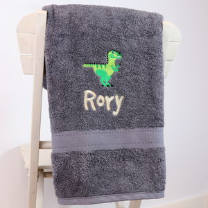 Personalised Children's Bath Towel