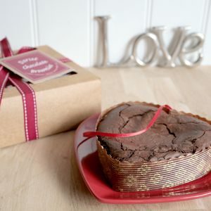 The Love Heart Brownie