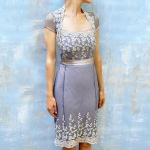 1940s Style Lace Summer Occasion Dress - new in fashion