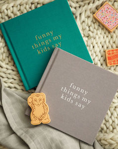 Memory Book For The Funny Things My Kids Say