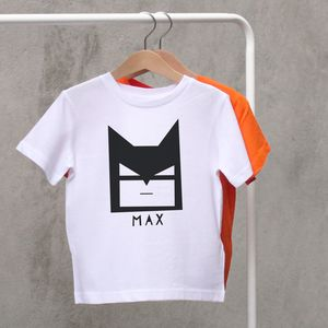 Personalised Child's Batman Mask T Shirt - t-shirts & tops