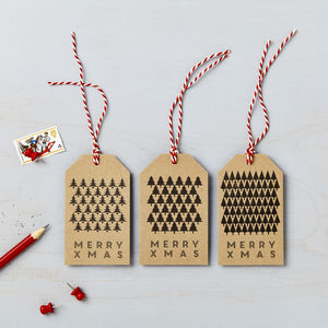 Christmas Tree Charity Gift Tags *Special Offer*