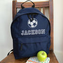 Personalised Football Rucksack All Colours