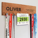 Personalised Medal Holder Hanging Board