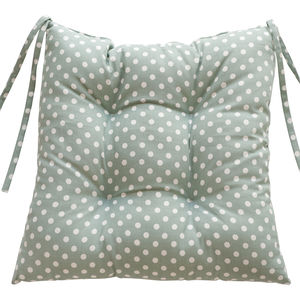 Madelaine Sage Chair Pad - bedroom
