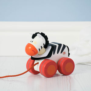 Pull Along Animal Toy - traditional toys & games