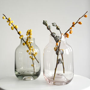 Small Coloured Glass Vase - spring home refresh