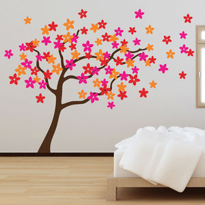 Flower Tree Wall Stickers - wall stickers