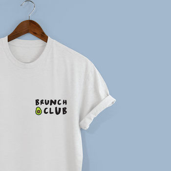 Brunch Club Unisex Tshirt