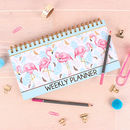 Tropical Flamingo Weekly Planner