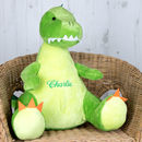 Personalised Soft Toy, Dinosaur