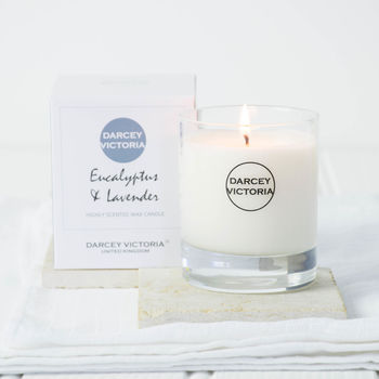 Eucalyptus And Lavender Home Candle