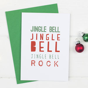 Jingle Bell Rock Christmas Card Pack