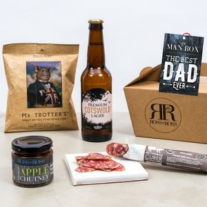 'Best Dad Ever' Man Box - food hampers