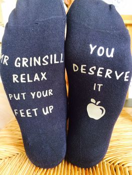 Teacher Gift Socks