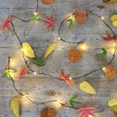 Autumn Leaves Fairy Lights