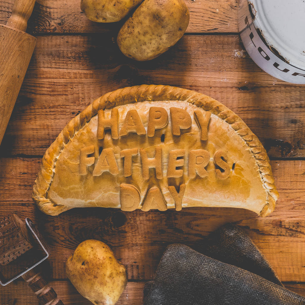 Fathers Day Personalised Cornish Pasty