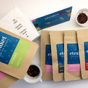 Eteaket Seven Day Detox Collection Tea Chest