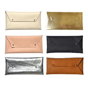 Leather Envelope Pouch