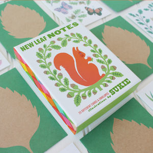 New Leaf Nature Notecard Set