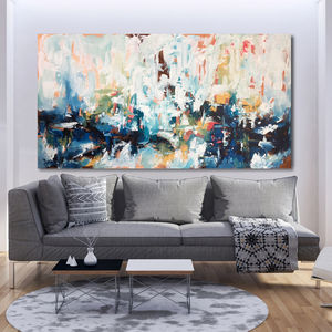 Daydreaming Large Landscape Abstract Painting On Canvas - what's new