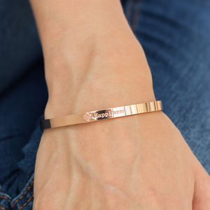 Happiness Affirmation Bangle