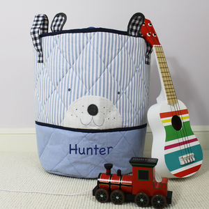 Personalised Bear Toy Bag