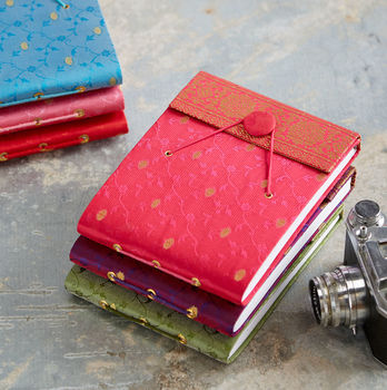 Fair Trade Small Sari Photo Album