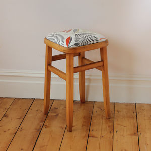 Retro Wooden Stool - kitchen