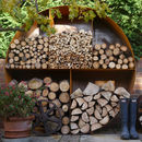 The Woodstock Original Circular Log Store Large