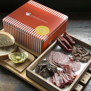 Pork Free Cured Meat Charcuterie Gift Tin