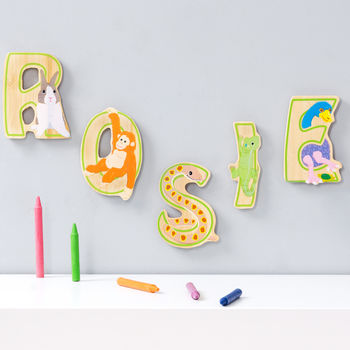 Bamboo Animal Letters