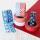 Red, White And Blue Washi Tape