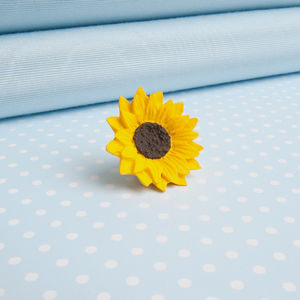 Sunflower Lapel Pin