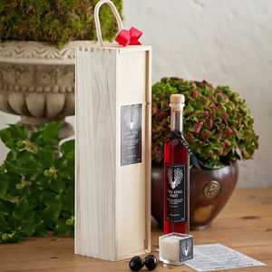 Raspberry And Lime Infused Gin And Candle Gift Set - wines, beers & spirits