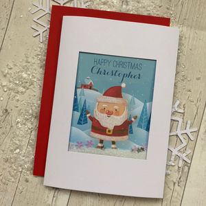 Fun Personalised Christmas Card For Son Daughter - new in christmas
