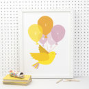 Personalised Bird Print