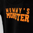 Halloween Monster Parent And Baby T Shirt Set